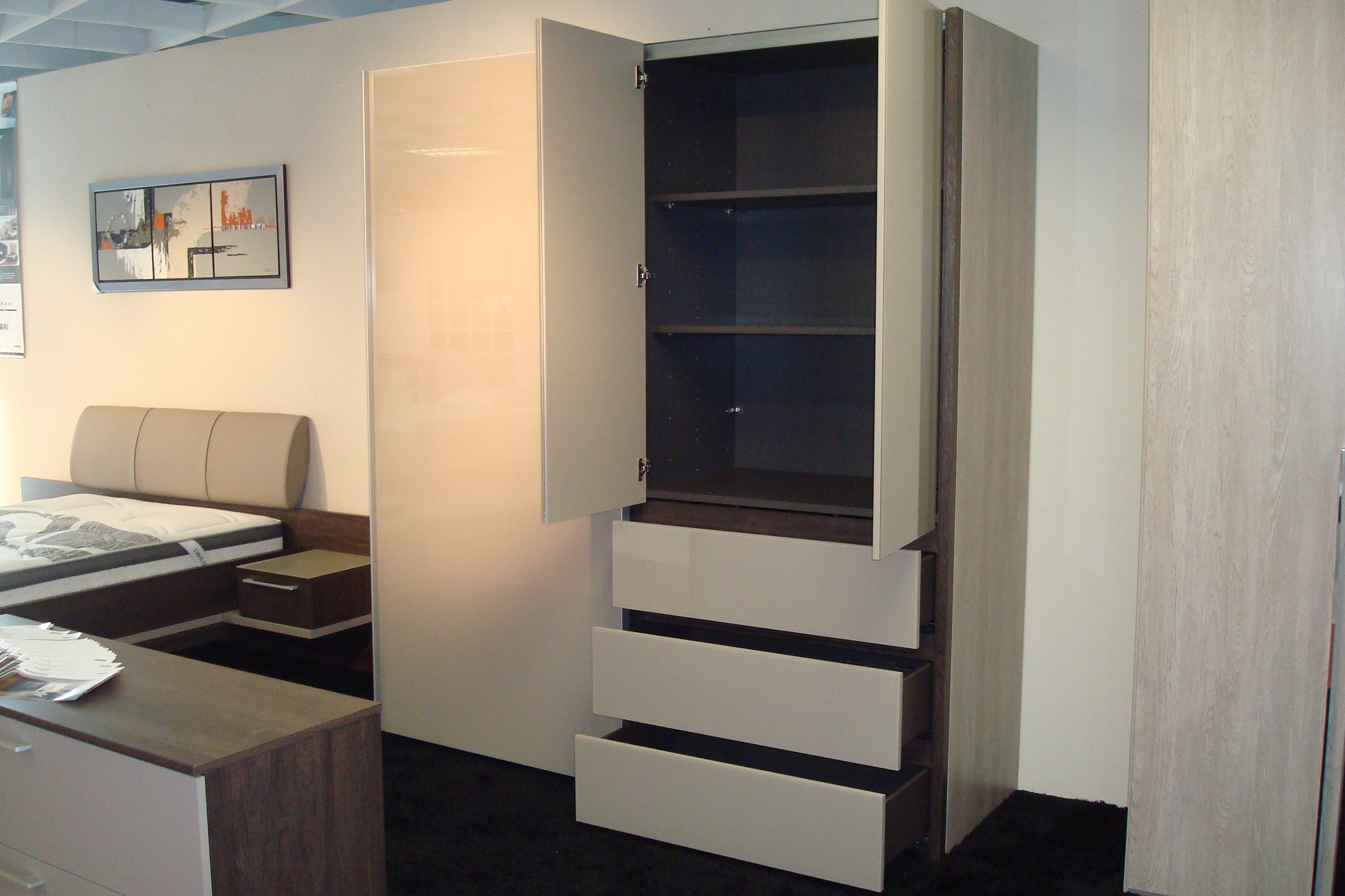 Chambres dressing meubles thibaud for Armoire nolte prix