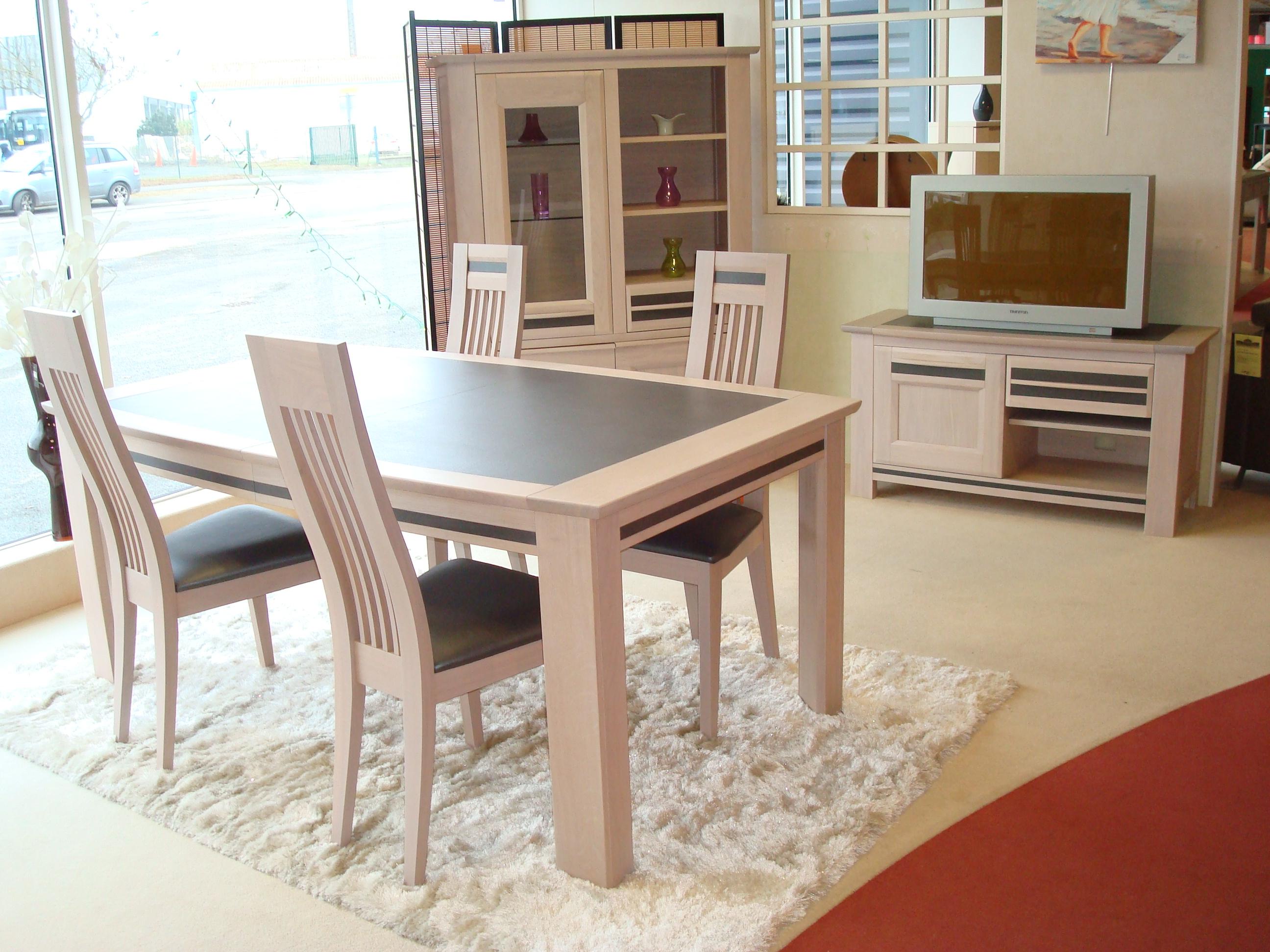 S jours meubles thibaud - Fabriquer une table a manger ...